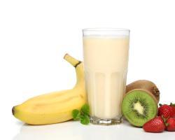 Mlijeko s bananama