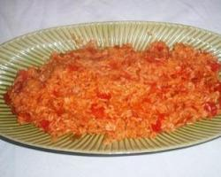 Pirjana riža s paprikama