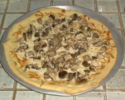 Pizza s gljivama
