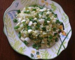 Senf salata od krumpira i graška