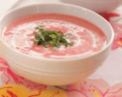 Hladna mliječna juha