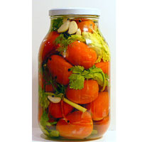 Kisela rajčica s povrćem - kiseli paradajz s povrćem