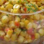 Kisela salata od kukuruza i povrća