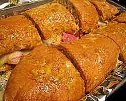 Pečena šunka u krušnom tijestu