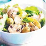 Salata od artičoka i gljiva