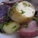Salata od ljubičastog krumpira