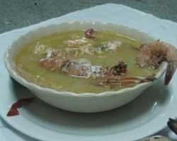 Krem-juha-od-škampa