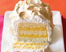 Limunove kocke – kolač s oblatnama