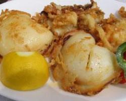 Pečena sipa s krumpirom i mrkvom