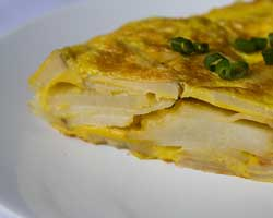 Omlet s prženim krumpirom
