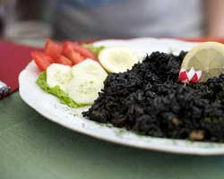 Crni rižot od sipe