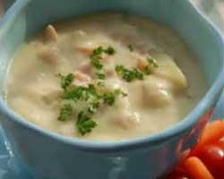 Kuhani krumpir s mlijekom i vrhnjem