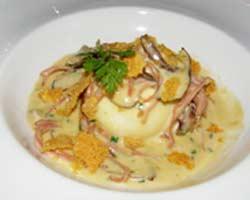 Pohani vrganji sa sirom i vrhnjem