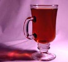 Čaj od borovnice s rumom