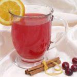 Punč od čaja s brusnicama