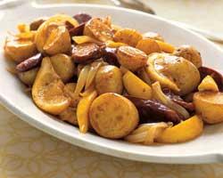 Krumpir salata s kobasicom