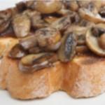 Tost s gljivama