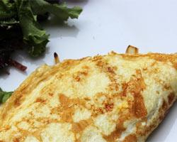 Kajgana ili omlet s lukom