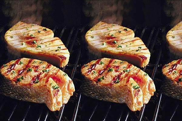 Priprema ribe za roštilj