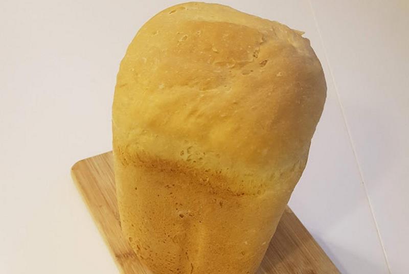 Kruh iz pekača s jogurtom