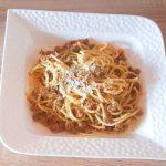 Špageti s mljevenim mesom - osnovni recept