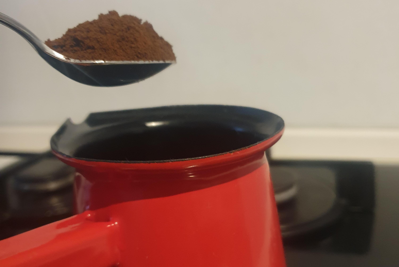 Turska kava – recept u slikama