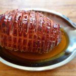 Kuhana, pa pečena glazirana rolana šunka