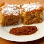 Brz i jednostavan biskvit kolač od griza i džema