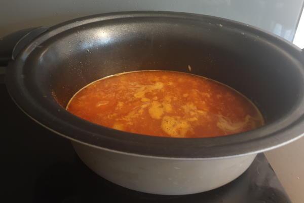 Pileći paprikaš u u sporom kuhalu  – Slow Cooker
