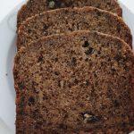 Kruh s bananama i orasima - kolač iz pekača